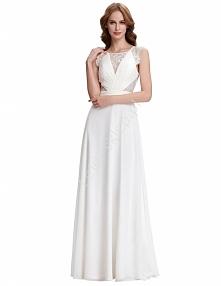 biała suknia w stylu Kate M...