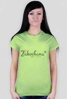 Koszulka dla żony z napisem: Zakochana* *w swoim mężu
