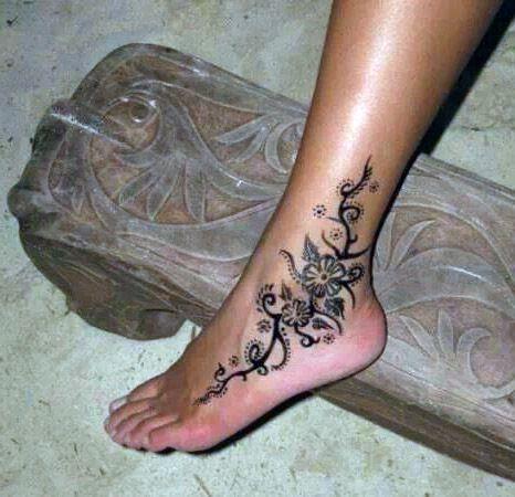 Tatuaże Damskie Na Kostce Na Tatuaże Zszywkapl