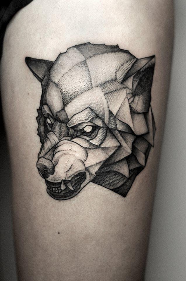 Moj tatuaz. Polecam tatuazyste Bartosza Wojde. Wedlug mnie jeden z najlepszych w Polsce.