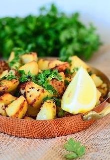 Ziemniaki pieczone w musztardzie