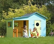 Drewniany domek dla dzieci ...