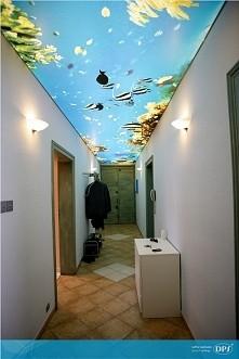 Lubicie nurkować? Z nadrukami na sufitach napinanych DPS możecie czuć się jak...