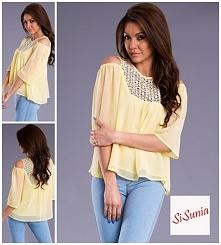 Bluzka zwiewna boho  ZAPRASZAM na Facebook'a SiSunia shop