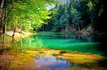 Kolorowe jeziorka w Sudetac...