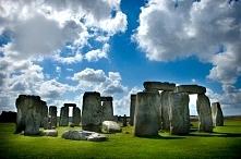 Stonehenge w południowej Anglii ❤