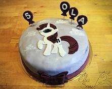 Więcej tortów z My Little Pony na @TortyCiociSoni na Facebooku :)
