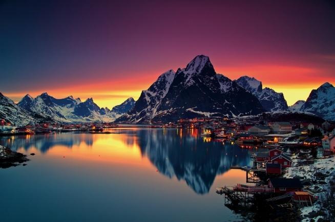 Reine w Norwegii ❤❤