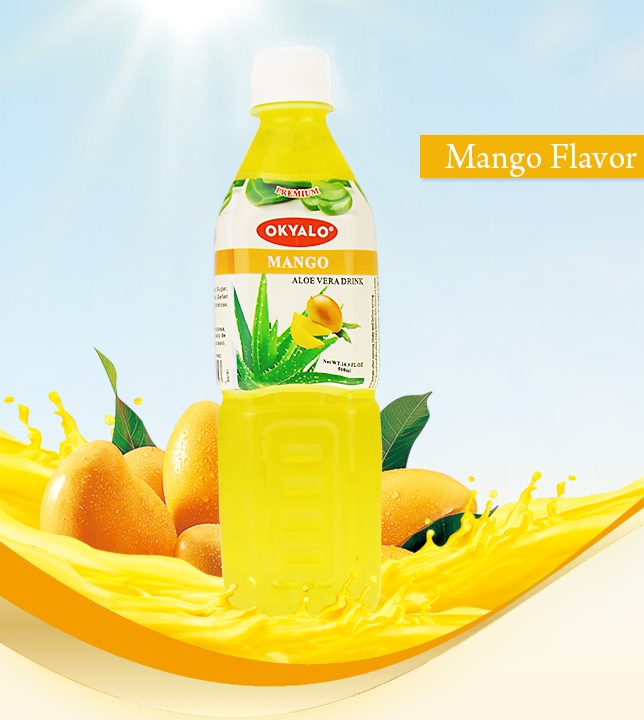 It is the popular flavor, which Made of fresh aloe vera pulps and gel, No any powder, mango is a great fruit as the role of diet in cancer prevention, conbined with aloe vera's benifits, makes the best aloe vera drinks with great taste. No Preservatives, no GMO, no artificial flavor and no artifical coloring. What's more, it only contain 5g sugar/100ml, keep your body fit and healthy.