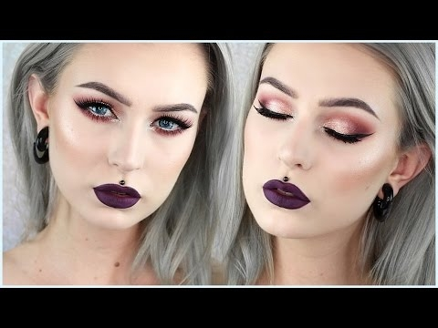 Glam Vampy Autumn Makeup | Evelina Forsell