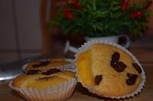 Pyszne muffiny z rodzynkami