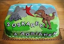 Więcej kolorowych tortów na Torty Cioci Soni na Facebooku :)