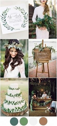 ślub w zieleniach :)