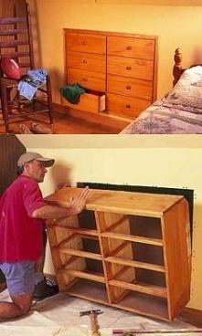 szafka w ścianie