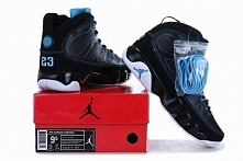 Air Jordan 9 Black Photo Bl...
