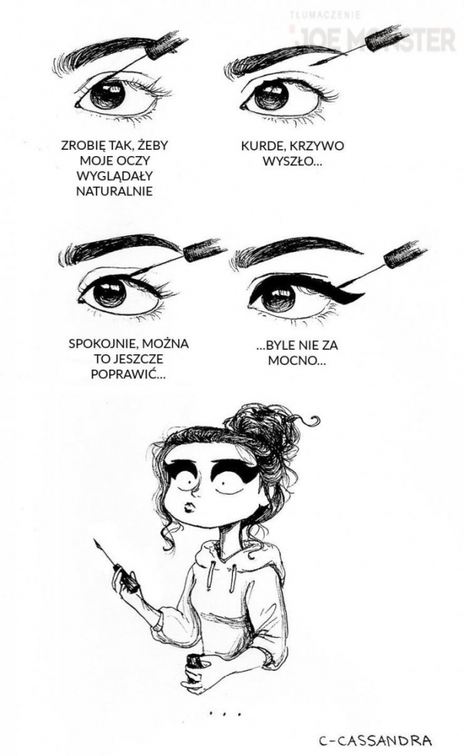 Humor - Makijaż oczu