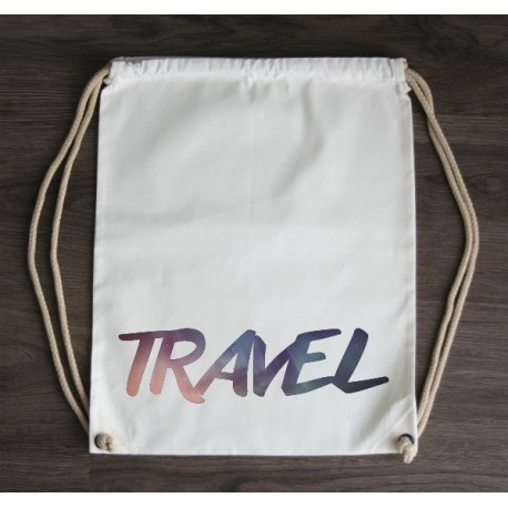 Plecak ekologiczny TRAVEL 100% bawełna.  littlethings.pl