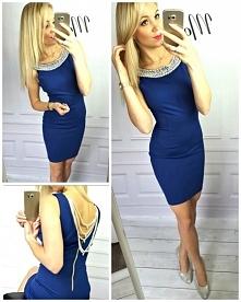 Chabrowa sukienka PERŁA <3 Kliknij w zdjęcie by przejść do sklepu :-)