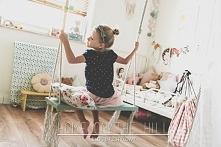DIY huśtawka do dziecięcego pokoju. Instrukcja krok po kroku jak taką wykonać...