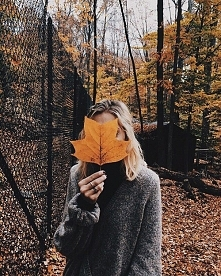 Jesień i te piękne liście... <3