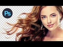 Cutting Out Hair | Photoshop Tutorial