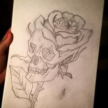 Pomysł na tatuaż, ale nie dla mnie.