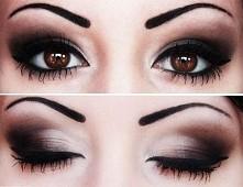 Świetny smoky eyes <3