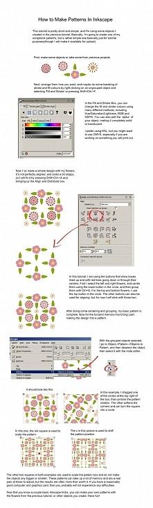 Inkscape - tworzenie wzorów