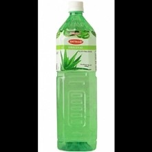 Our refreshing, Okyalo Aloe Vera Water Beverages contains premium REAL aloe vera pulp and FRESH aloe vera gel. 100% natural...NO powders! The aloe vera plants used in our drinks...
