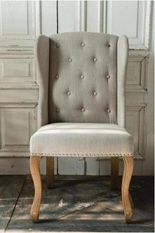 stylowy fotel ręcznie wykoń...