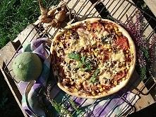 Jesienna pizza z kurkami i ...