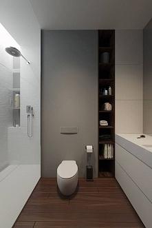 Półki w łazience - jak je zaprojektować, gdzie zaprojektować półki, czysta ła...