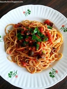 Spaghetti alla puttanesca - makaron gotowy w 15 min! :)