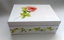 Herbaciarka Organizer z różą