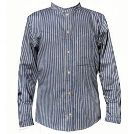 Oryginalna, męska koszula w paski, do zamówienia w dowolnym rozmiarze w butiku Łatka fashion