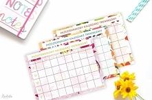 Październikowy Kalendarz Treningowy do druku już na blogu. Świetna motywacja na ponure, jesienne dni :).