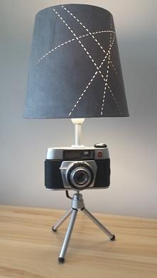 Lampka z aparaty Regulette....