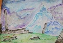 zamek na lodowej górze
