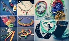 Różne formy biżuterii diy. #ksiegainspiracji #diy #egmont
