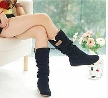 Śliczne buty zimowe od snea...