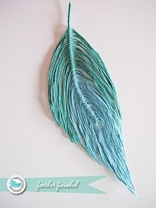 Feather Making Tutorial