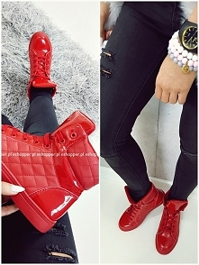 B014 SNEAKERS RED COCO desi...