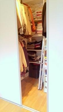 Garderoba zrobiona samodzie...