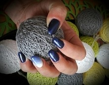 modena nails cat eye + geometryczne ombre