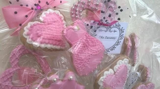 Różowy słodki bukiet dla dziewczynki, prezent na urodziny, imieniny, itp.