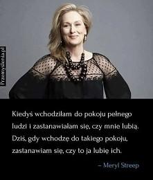 Meryl Streep. Wzór!