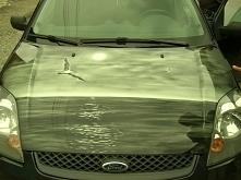 Aerografia na masce samochodu Ford Focus. #aerografia #airbrush #artystycznem...
