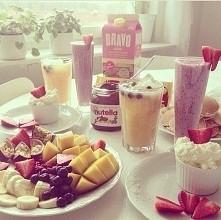 Śniadanko rozpoczęte ;) Wam również życzę smacznego :)