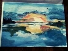 Zachód słońca :-*