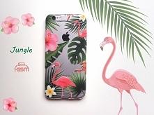 ALOHA! Jungle Etui silikonowe z zatrzymującym lato tropikalnym nadrukiem, do ponad 500 modeli telefonów!